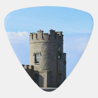 O'Brien's Tower on the Cliffs of Moher Guitar Pick
