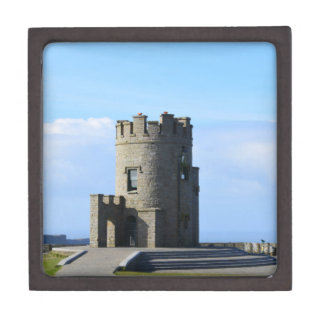 O'Brien's Tower on the Cliffs of Moher Jewelry Box