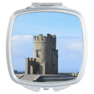 O'Brien's Tower on the Cliffs of Moher Makeup Mirror