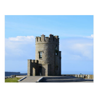 O'Brien's Tower on the Cliffs of Moher Postcard