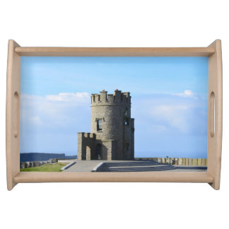 O'Brien's Tower on the Cliffs of Moher Serving Tray