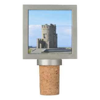 O'Brien's Tower on the Cliffs of Moher Wine Stopper