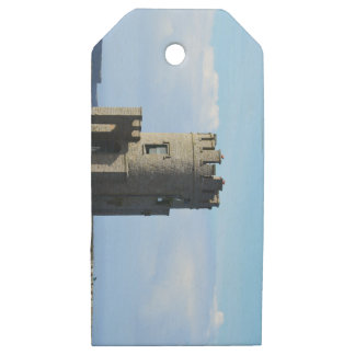 O'Brien's Tower on the Cliffs of Moher Wooden Gift Tags