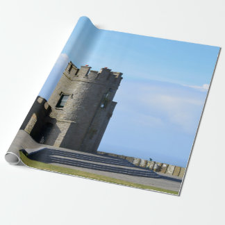 O'Brien's Tower on the Cliffs of Moher Wrapping Paper