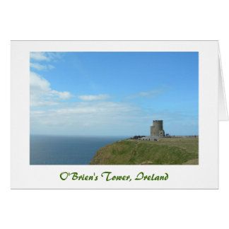 O'Brien's Tower (Title) Stationery Note Card
