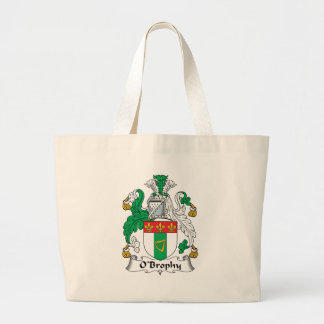 O'Brophy Family Crest Tote Bags