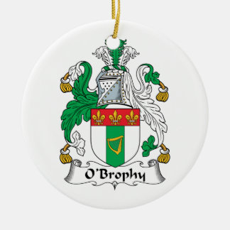 O'Brophy Family Crest Ornaments