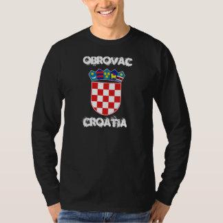 Obrovac, Croatia with coat of arms T-Shirt