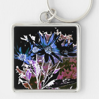 Obscure Flowers Keychain
