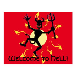 Obscure Indication Magickal Fire Devil Products Postcard