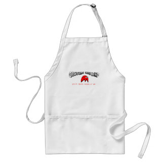 Obscure Indie Band Adult Apron