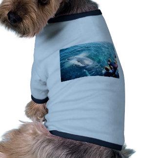 Observación de la ballena (Humpback) Camiseta Con Mangas Para Perro