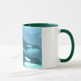 Observación de la ballena taza