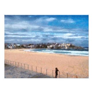 Observación de la playa cojinete