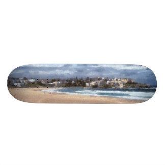 Observación de la playa monopatin personalizado