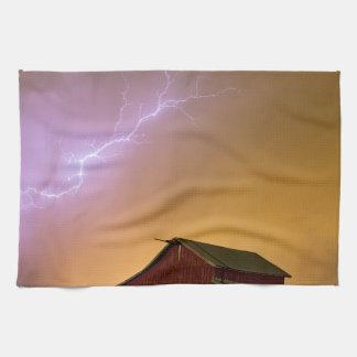 Observación de la tormenta de la granja
