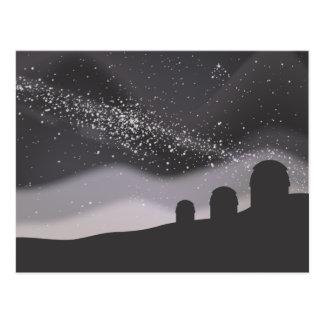 Observación de las estrellas postales