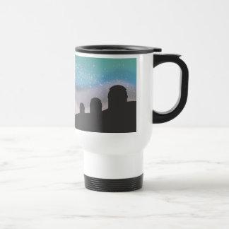 Observación de las estrellas tazas de café