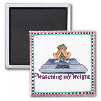 observación de mi imán del peso