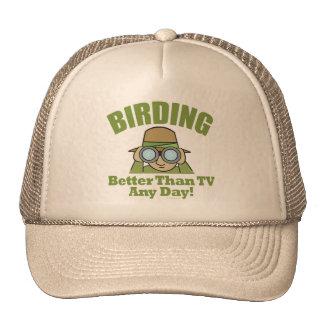 Observación de pájaros, Birding Gorro