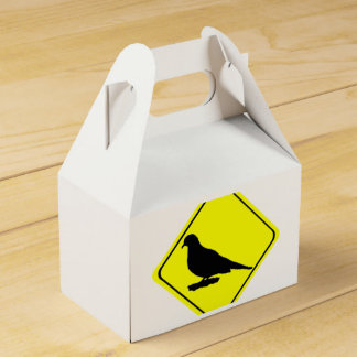Observación de pájaros de luto del amor de la cajas para detalles de boda