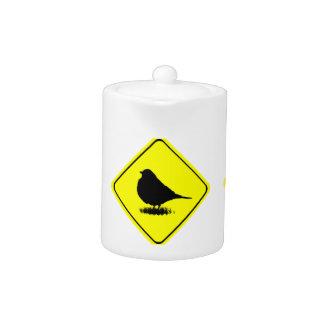 Observación de pájaros del amor de la señal de