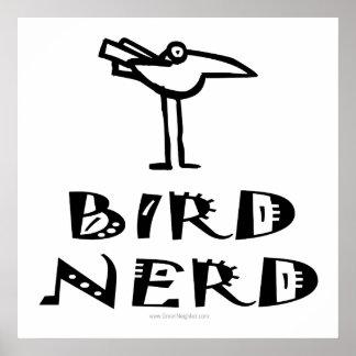 Observación de pájaros, ornitología, Birding Póster