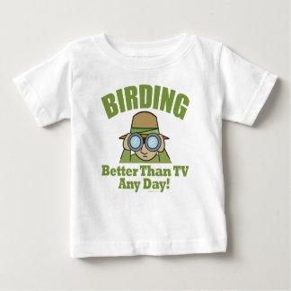 Observación de pájaros playera de bebé