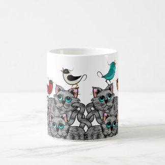 Observación de pájaros taza de café