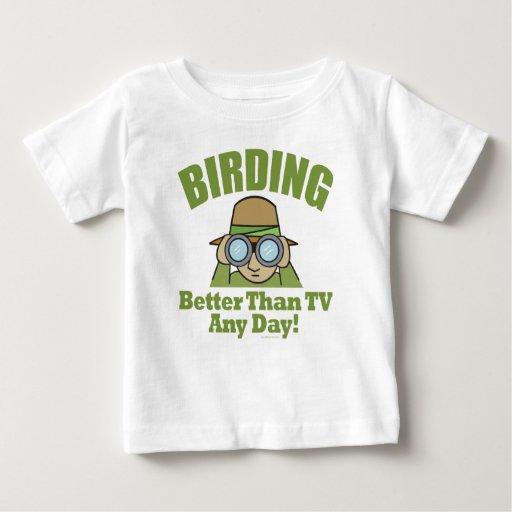Observación de pájaros tshirt