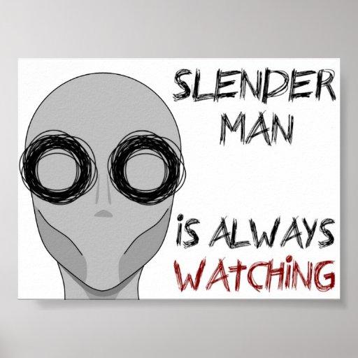 Observación de Slenderman- Impresiones