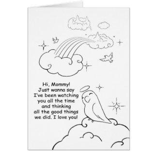 Observación de usted tarjeta de felicitación