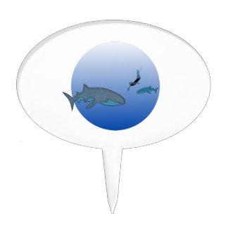 Observación de Whaleshark Figuras De Tarta