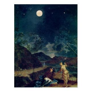 Observaciones astronómicas tarjetas postales