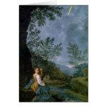 Observaciones astronómicas tarjeton