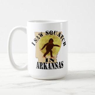 Observador de tiro de Arkansas Sasquatch Bigfoot - Taza