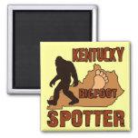 Observador de tiro de Kentucky Bigfoot Imán De Nevera