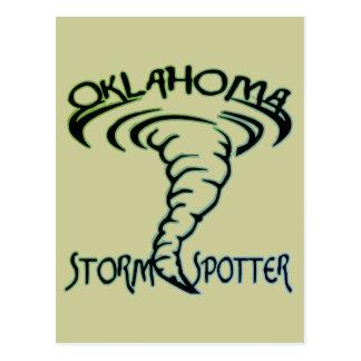 Observador de tiro de la tormenta de Oklahoma Tarjeta Postal