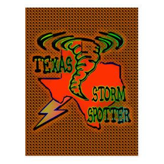Observador de tiro de la tormenta de Tejas Tarjetas Postales