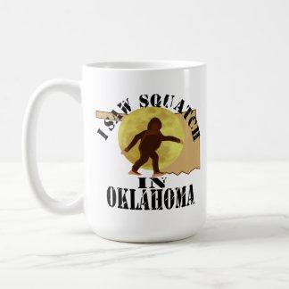 Observador de tiro de Oklahoma Sasquatch Bigfoot - Taza De Café