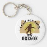 Observador de tiro de Oregon Sasquatch Bigfoot - l Llavero Personalizado