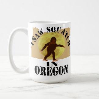 Observador de tiro de Oregon Sasquatch Bigfoot - l Tazas