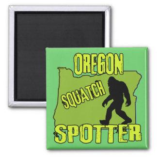 Observador de tiro de Oregon Squatch Imán Cuadrado