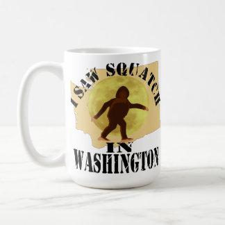 Observador de tiro de Washington Sasquatch Bigfoot Taza
