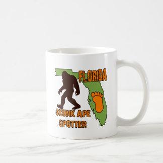 Observador de tiro del mono de la mofeta de la Flo Tazas De Café