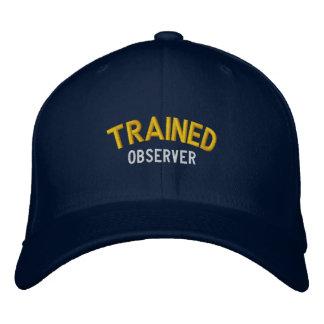 Observador entrenado gorros bordados