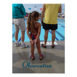 Observation  - Beginning of the DREAM SWIM POSTER