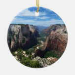 Observation Point in Zion National Park Ornament