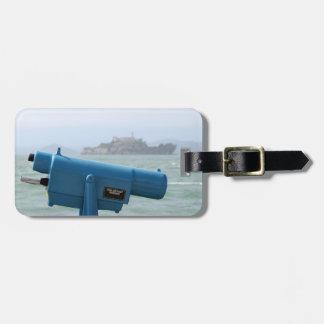 Observation Viewer Alcatraz Bag Tag