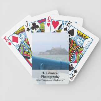 Observation Viewer Alcatraz Bicycle Playing Cards
